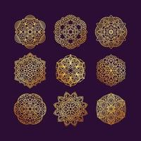 Mandala collection vector illustration