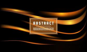 Dynamic abstract Gold texture vector background, Gold liquid wave background