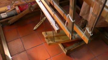 Vintage Spun Silk Machine Working video