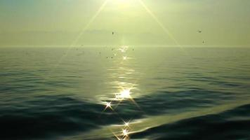 The Mystic Looking Sea and the Sunlight