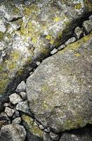 piedras de granito pequeñas y grandes foto