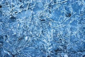 superficie de hielo azul abstracto foto