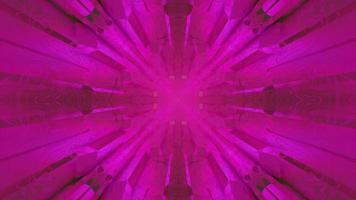 Ilustração 3 d de padrão azul dinâmico no escuro video