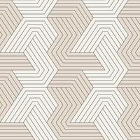 Seamless pattern with symmetric geometric lines. Repeating geometric tiles vector
