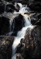 Cascade on rocks