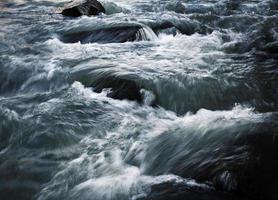 Cold wild river