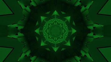 illustration 3d géométrique formant des formes mobiles sphériques abstraites video