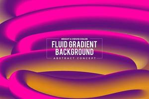 Fluid Gradient Background vector