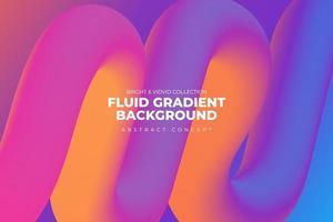 fondo degradado fluido vector