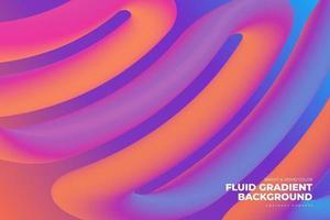 Fluid Gradient Background vector