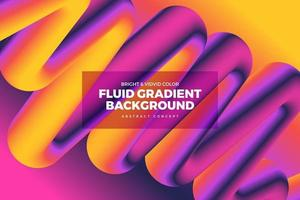 Fluid Vivid Gradient Background vector