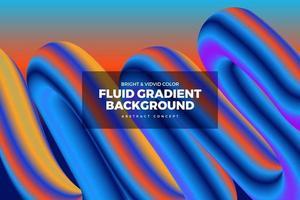 Fluid Vivid Gradient Background vector