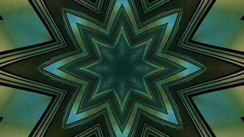 Figura geométrica del polígono en la ilustración 3d