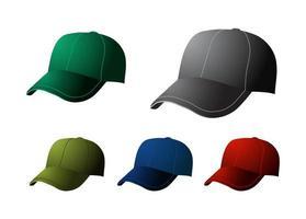 icono de gorra de béisbol vector