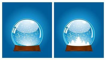 snow ball icon vector