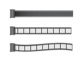 film strip roller vector