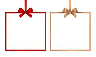 marco de caja de regalo vector