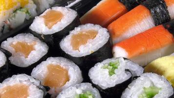 Traditional Japanese Food Sushi Details