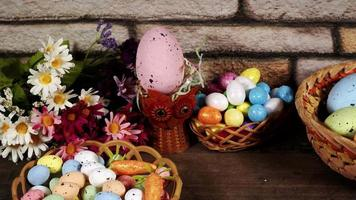 Traditional Celebration Easter Paschal Eggs