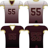 Adult Reversible Fade Compression Jersey vector