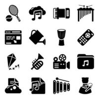 Entertainment and Leisure Activities vector