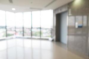 Interior del hospital desenfocado abstracto para el fondo foto