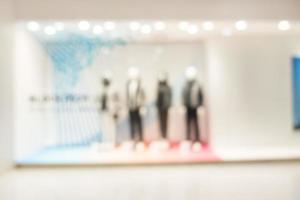 Interior del centro comercial desenfocado abstracto para el fondo