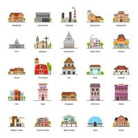 Buildings and Architecture vector