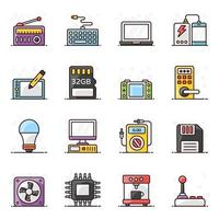 Computer Accessories and Electronic Devices vector