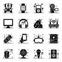 dispositivos informáticos y de tecnología vector