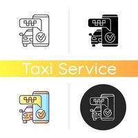 Text alerts icon vector