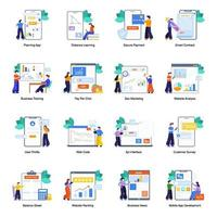Business Marketing and SEO vector