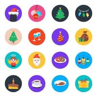 Christmas Party and Celebrations vector