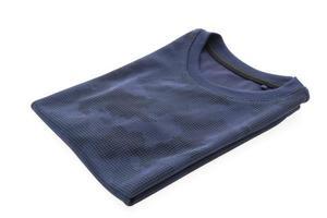 camiseta azul para ropa foto