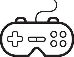 Line icon for joystick vector