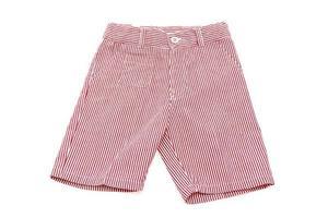 Short pants on white background photo