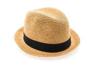 sombrero de paja para hombre foto