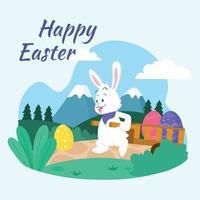 Happy Easter Day Design vector