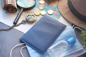 Vacation travel accessories photo