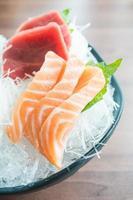 sashimi fresco crudo