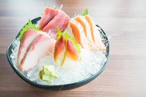 sashimi fresco crudo foto