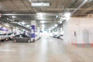 estacionamiento de automóviles borroso abstracto