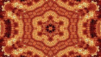 quebra-cabeças abstratos caleidoscópio simétrico
