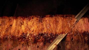 Delicious Turkish Traditional Meat Food Doner Kebab