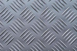 telón de fondo del patrón de diamante de una placa de aluminio foto