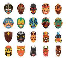 Cultural Masks Vectors