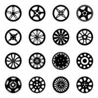 Automotive Rims Vector