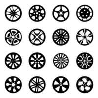 Variety of Transport Rims vector