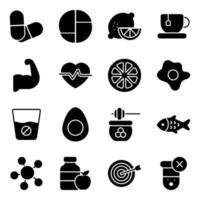 Nutrition and Alternative Medicines vector