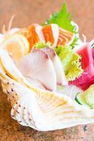 sashimi crudo y fresco